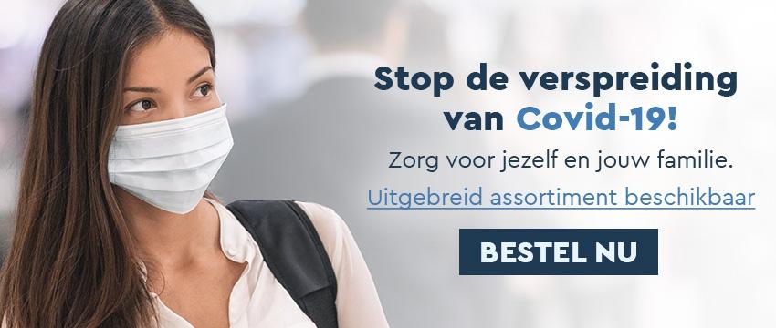Stop de verspreiding van Covid-19!
