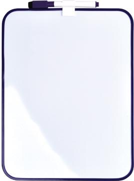 Desq Magnetisch witbord, ft 21,5 x 28 cm, paars