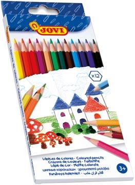 Jovi kleurpotlood 12 potloden