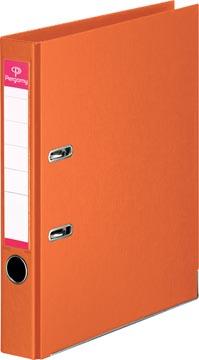 Pergamy ordner, voor ft A4, volledig uit PP, rug van 5 cm, oranje