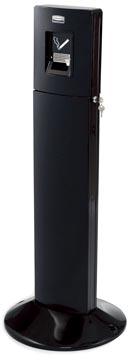 Rubbermaid peukenzuil Metropolitan, ft 43 x 109 cm, zwart