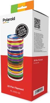 Polaroid 3D Universal PLA filament, doos van 22 rollen van 15 g (5 m)